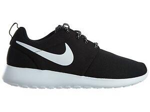 b0c61449f2bf Nike Roshe One Womens 844994-002 Black White Mesh Running Shoes Wmns ...