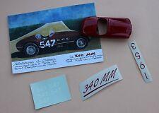 NC'' Voiture Ferrari 340 MM 547 coq rouge collector 1/43 Heco Miniatures Château