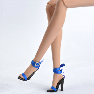 Sherry shoes for FR2 Nu Face 2 Fashion royalty Jason wu body doll Black boots