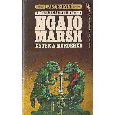 ENTER A MURDERER Ngaio Marsh PB 1977 Roderick Alleyn M2