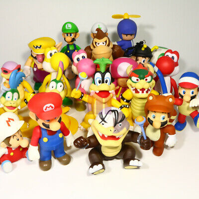 Super Mario Bros Koopa Morton Yoshi Bowser Action Figure Nintendo