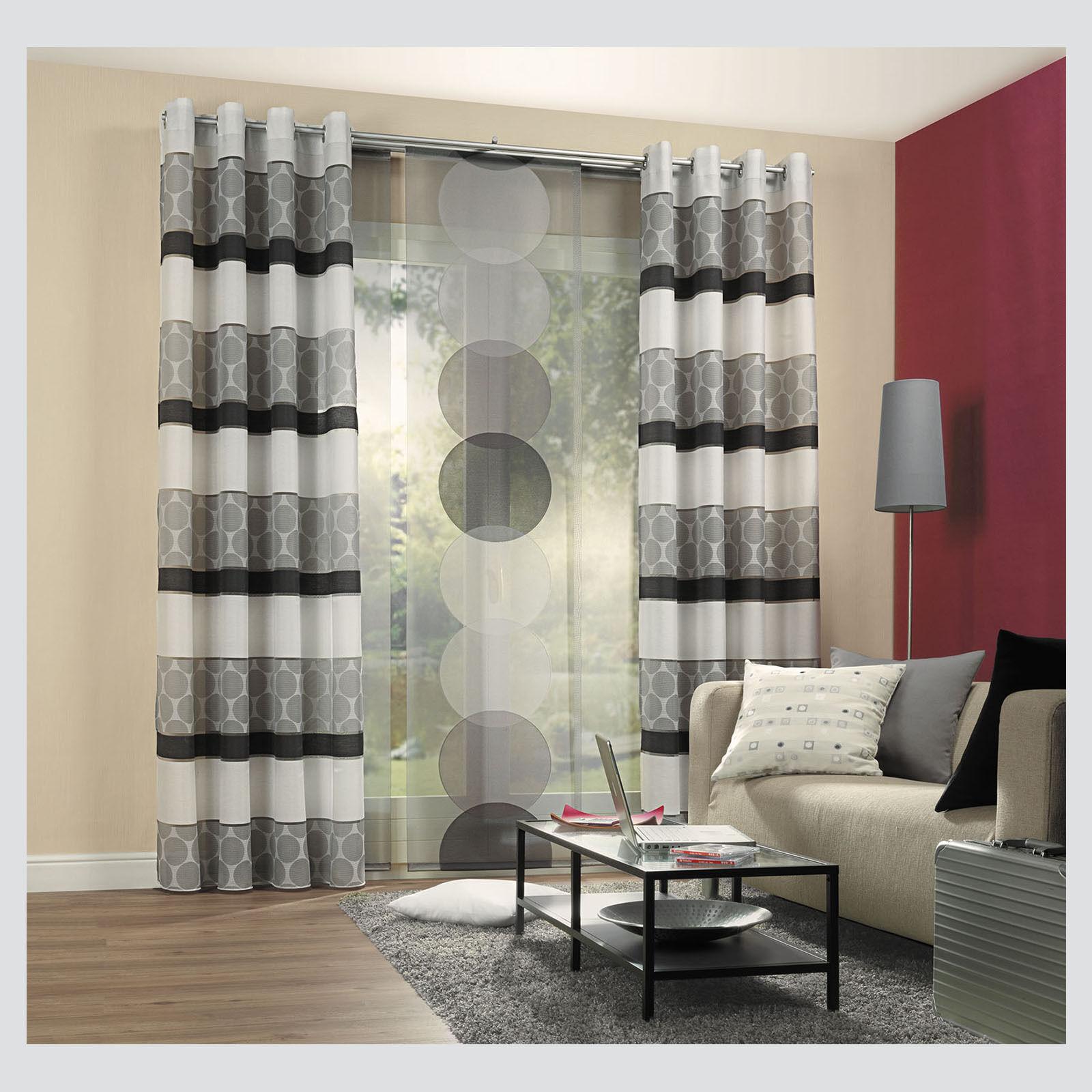 Dots schiebevorhang fl chenvorhang schiebegardine raumteiler paneele vorhang ebay - Deko vorhang raumteiler ...