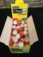 50 Pcs Mini Lip Balm Chap Ice Bulk Citrus Orange Flavor- Bulk Lot Wholesale