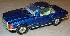 Vintage Corgi Mazak Diecast Whizzwheels Mercedes Benz 350SL Blue Great Britain