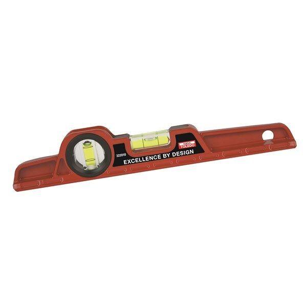 TOLEDO Magnetic Torpedo Level - 250mm 322010