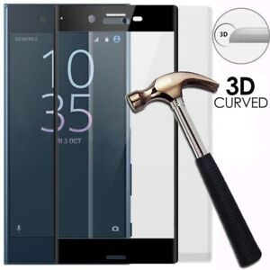 3D-Full-Cover-Tempered-Glass-Screen-Protector-For-Sony-Xperia-XZ2-XA1-Ultra