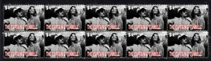 CAPTAIN-amp-TENNILLE-STRIP-OF-10-MINT-1970-039-S-POP-VIGNETTE-STAMPS-3