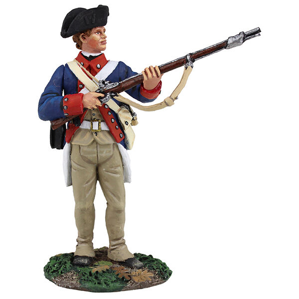 BRITAINS SOLDIERS 16023 - Continental Line 1st American Regiment Standing Ready