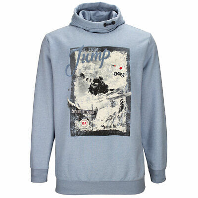 Kitaro Hoody Kapuzenpullover Sweatshirt Pulli Herren Langarm Größe XL 3XL