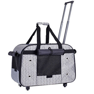 Pet Dog Puppy Cat Travel Carrier Tote Cage Bag Review