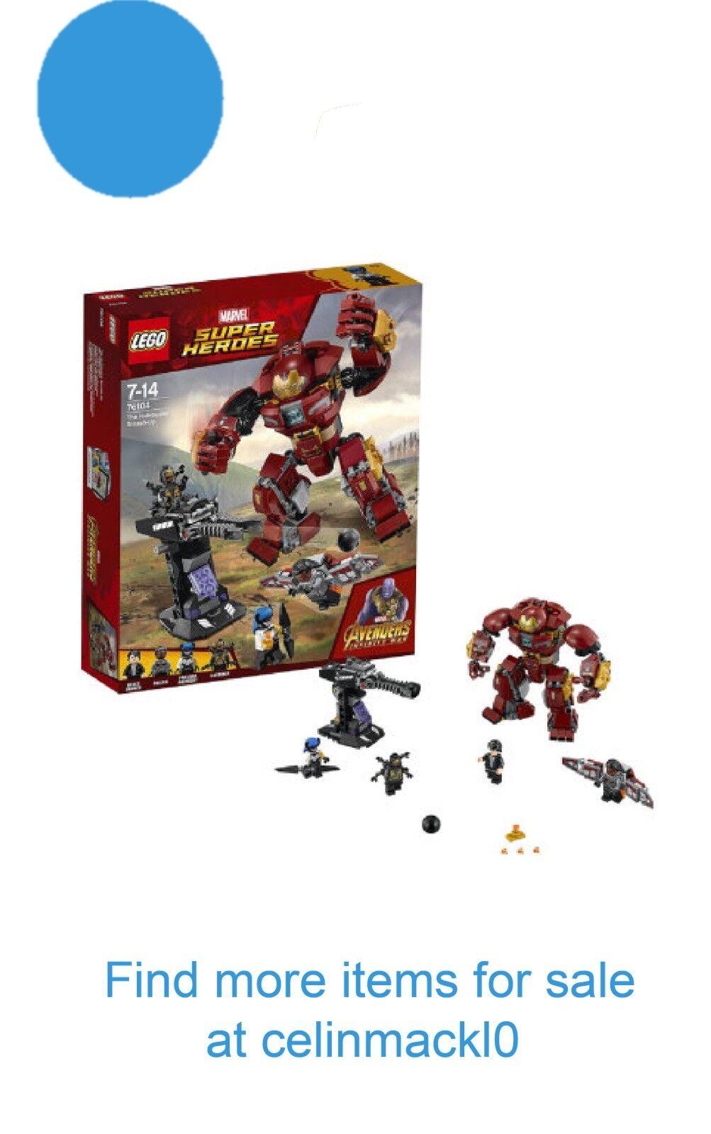 NEW LEGO Marvel Super Heroes 76104 Avengers Infinity War The Hulkbuster Smash-Up