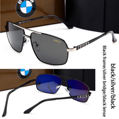 BMW BRAND MEN/'S Lunettes De Soleil Lunettes De Soleil Polarisées Classic UV400 boîte de marque