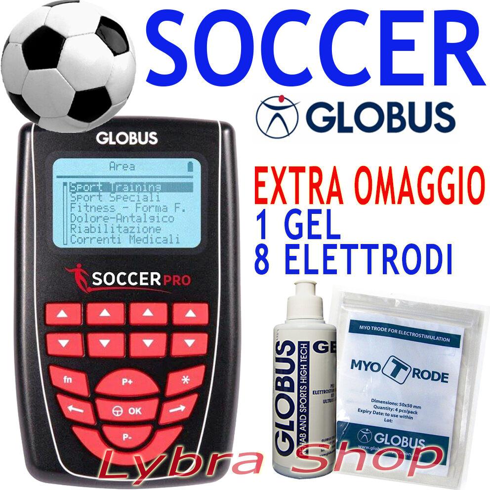 GLOBUS SOCCER PRO Calcio Sport Calciatore Portiere 258 progr elettrostimolatore