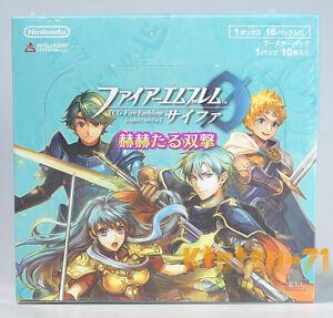 Details about Fire Emblem 0 Cipher TCG Booster Pack Part 11 Glorious  Twinstrike BOX Japan B11