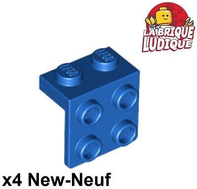 Lego 4x Bracket 1x2-2x2 Inverted support 90° beige//tan 99207 NEUF