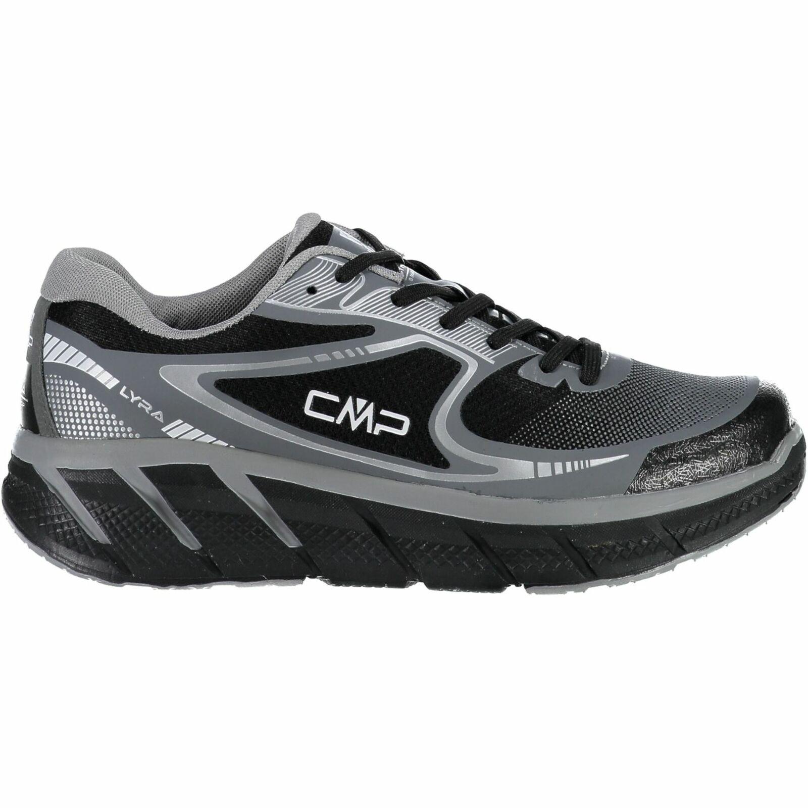 CMP zapatillas calzado deportivo Lyra maxi running zapatos negro monocromo Mesh