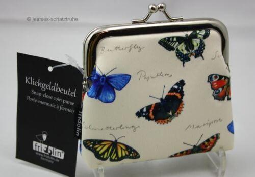 Klick-Geldbeutel / Portemonnaie / Geldbörse Schmetterlinge Nature Fun