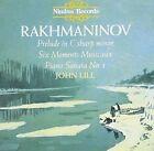 Rachmaninov: Prelude in C sharp minor; Six Moments Musicaux; Piano Sonata No. 1 (CD, Dec-1998, Nimbus)