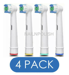 Electric Toothbrush Heads Compatible With Oral B Braun Replacement brush Head