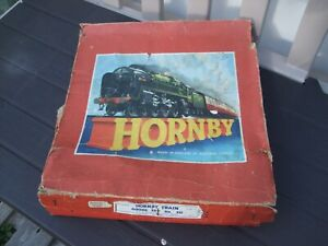 Objectif Vintage Clockwork Hornby Train Goods Set No.20 Volume Large