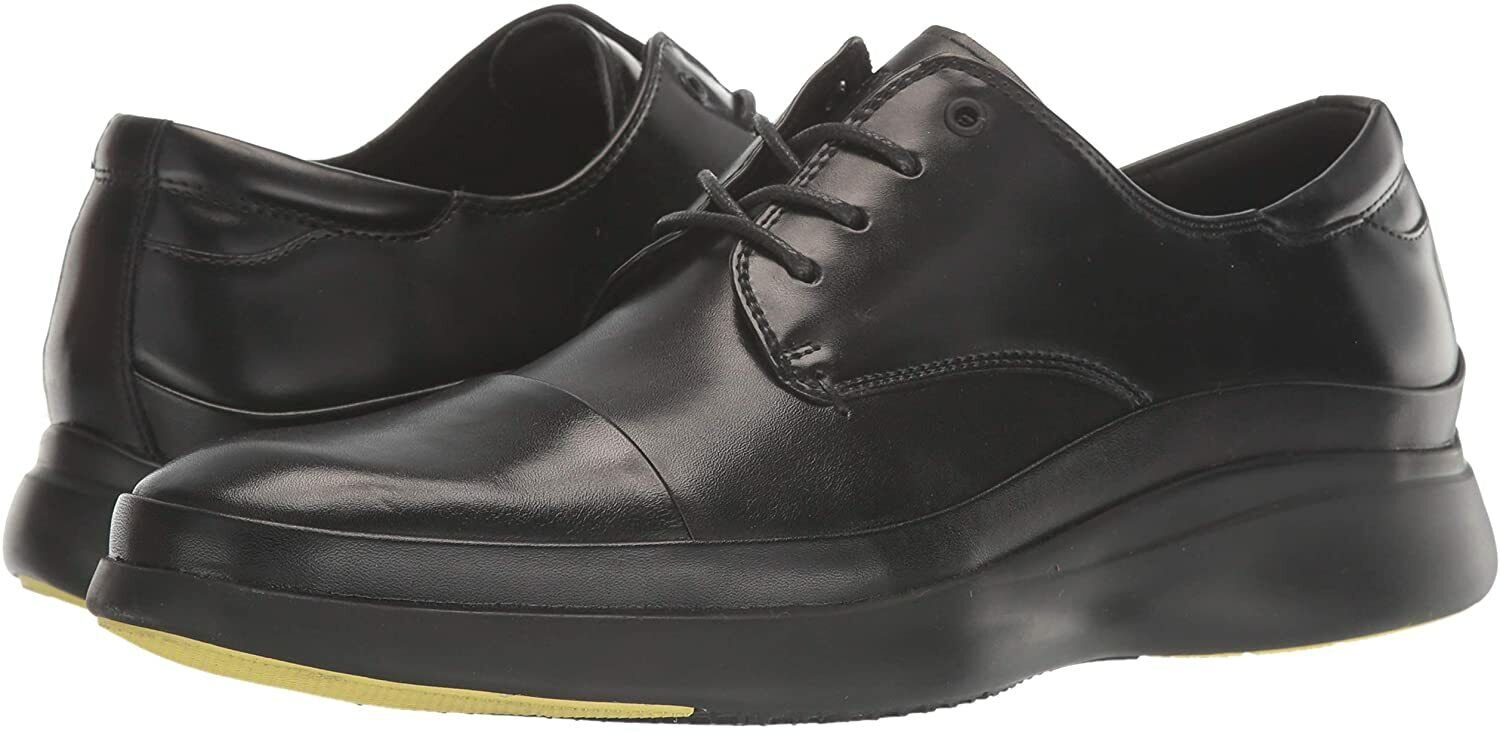 Kenneth Cole New York Men's Mello Lace Up Ct Oxford, Black, Size13 M