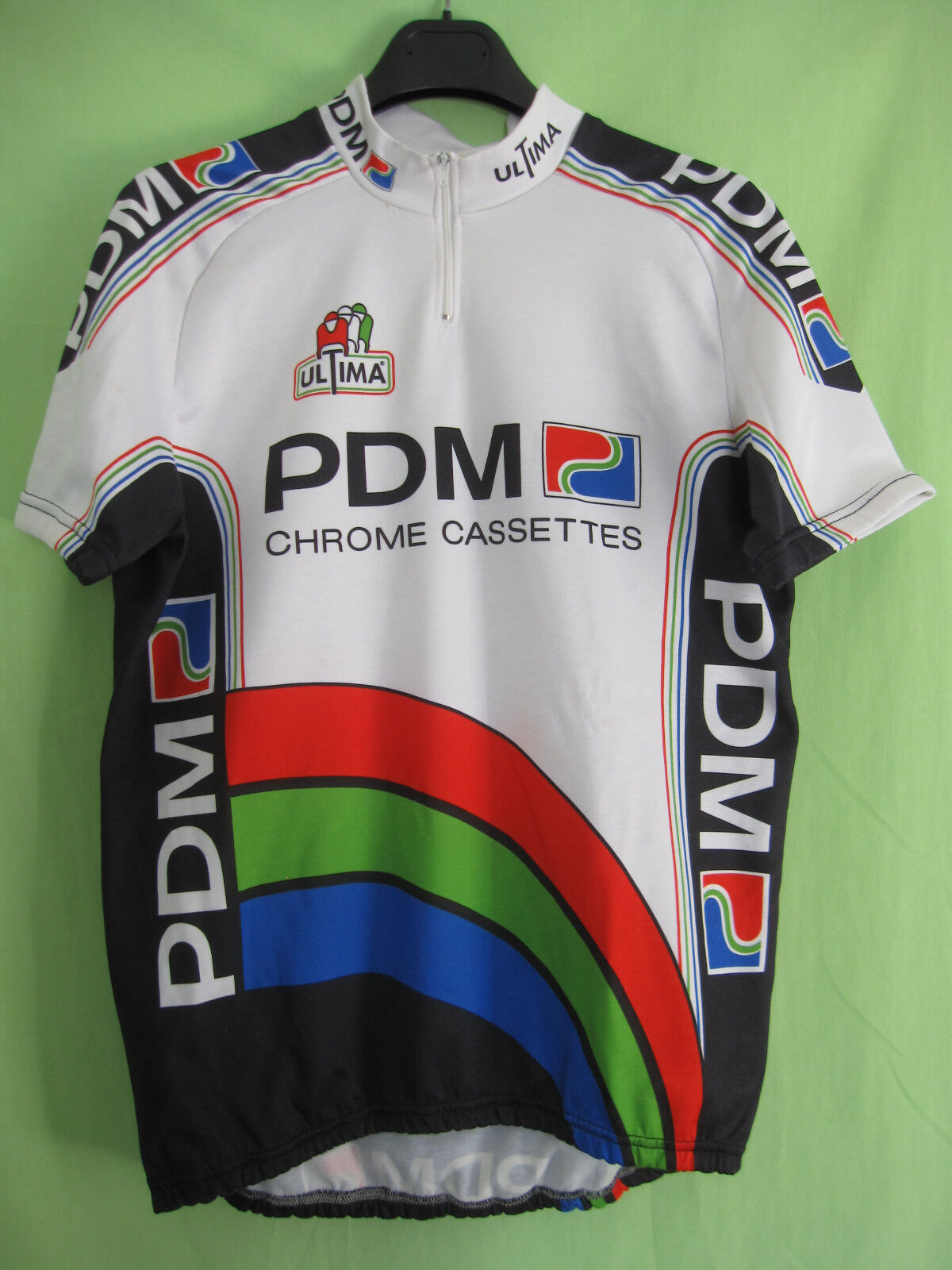 Maillot cycliste PDM Concorde Ultima Tour 1990 vintage jersey Cycling - L
