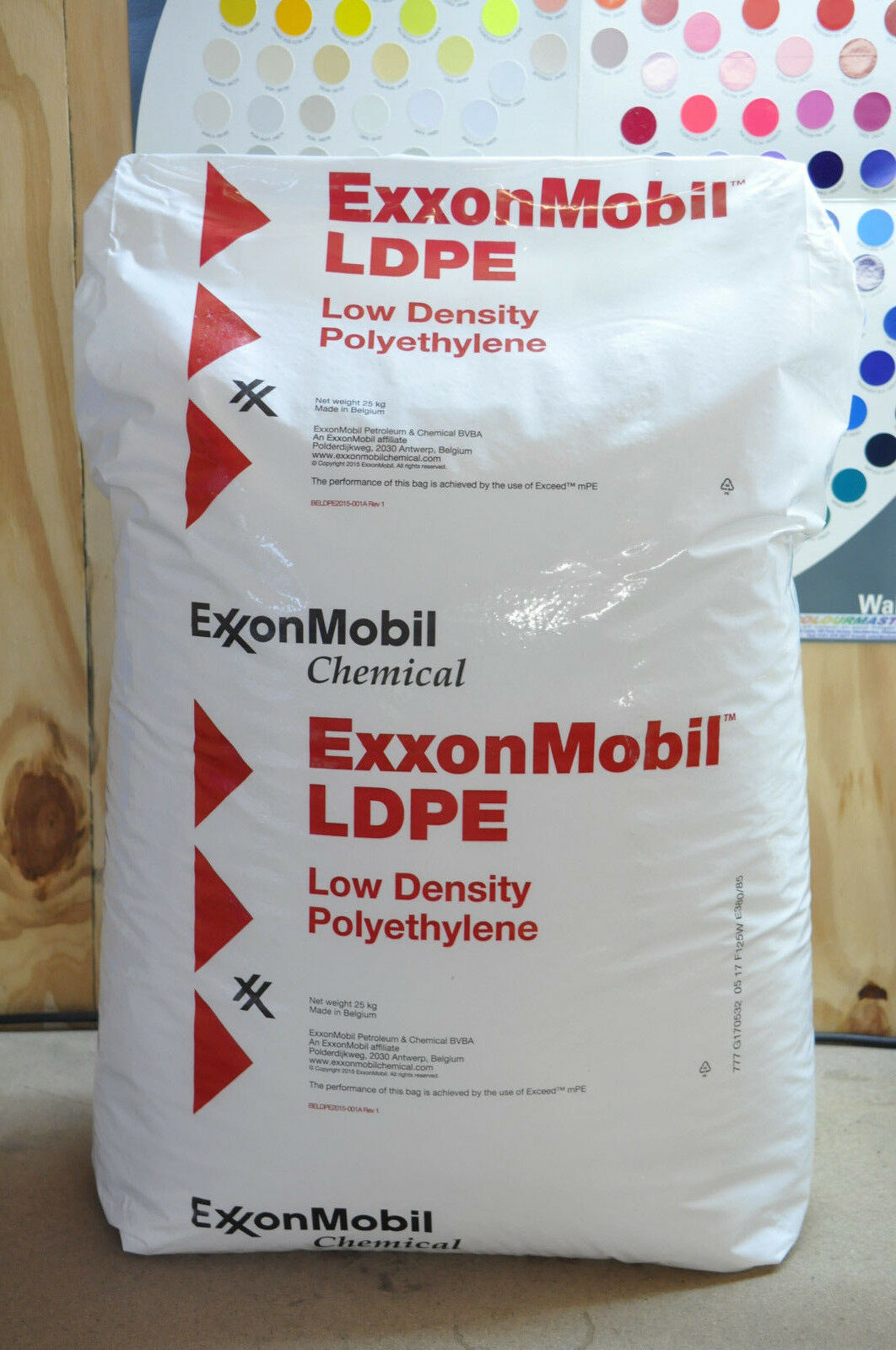 Natural LDPE ExxonMobil™ 605ba MFI6.5 Injection Moulding Poly Pellet ( 32)