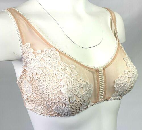 Nouveau Victorias Secret Dream Angels Brodé Floral Applique Bralette Bra A6801