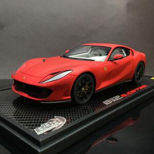 BBR-1-18-Ferrari-812-Superfast-Car-Model-Limited-Edition-Version-W-Leather-Case