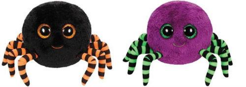 TY Glubschis 15 cm Crawly Halloween Spinne schwarz oder lila 7141110