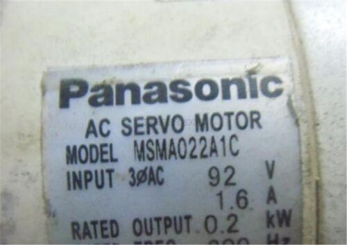 Gebrauchte Ac-Servomotor MSMA022A1C 0.2KW Getestet Panasonic vp