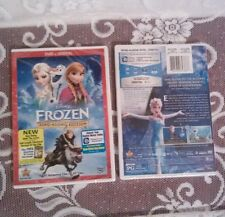 Disney Frozen Sing Along Edition DVD + FREE Digital Downloads & Bonuses NIB !