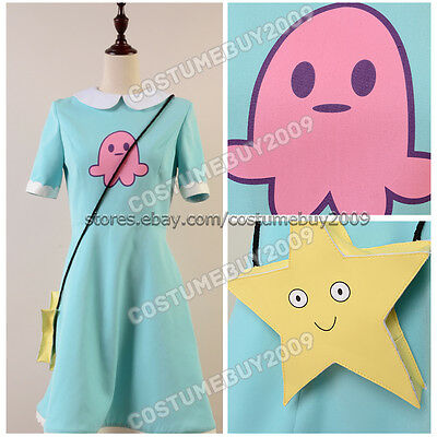 Star vs.the Forces of Evil Cosplay Costume Princess Star Butterfly Dress Outfit