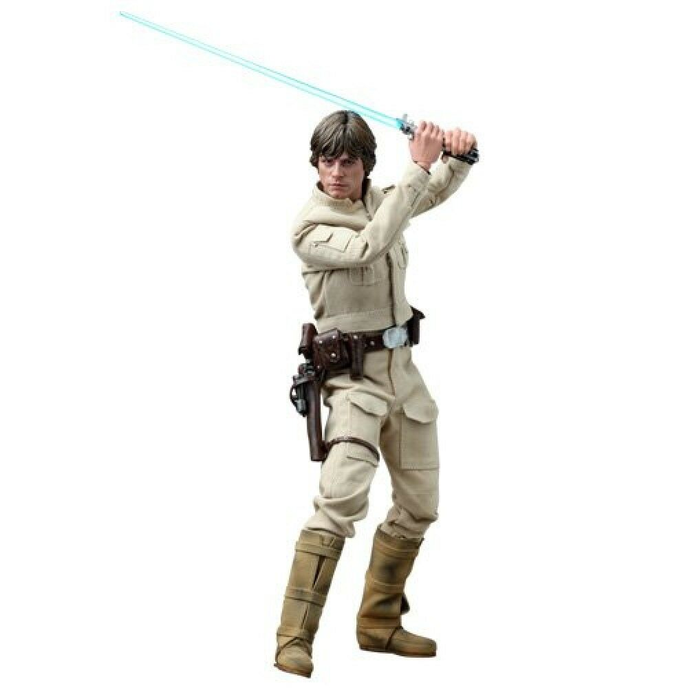 Movie Masterpiece DX STAR WARS EP4 LUKE SKYWALKER BESPIN Ver 1/6 Figure Hot Toys