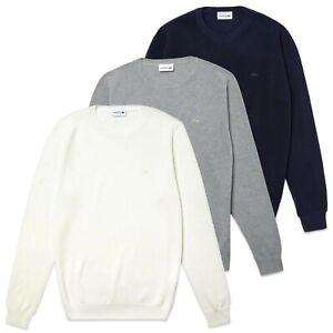 Lacoste Jumper - Lacoste Cotton Piqué Crew Neck Sweater - AH4082 - BNWT
