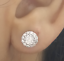 Deal-14K-Gold-1-05-CTW-Solitaire-Round-Genuine-Diamond-Halo-Stud-Earrings-7-mm thumbnail 4