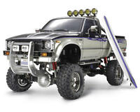 Tam58397 Tamiya Toyota Hilux High-lift Electric 4x4 Scale Truck Kit on Sale