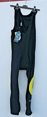 RadsporthoseTrägerhose mit Polster Borg Performance Zero Wind lang | eBay