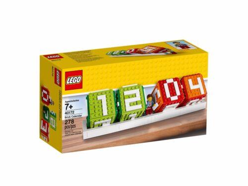 1 Figur NEU /& OVP Brick Calendar Set Lego Stein Kalender 40172