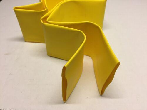 40 mm Diamètre x 1 m Heat Shrink jaune Heatshrink Isolation