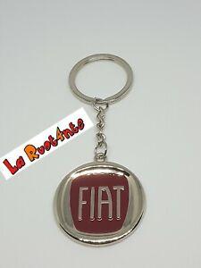 1-Porte-Cle-Fiat-Acier-L10-5Cm-Punto-500-L-X-124-Croma-600-Panda-Model-rif141