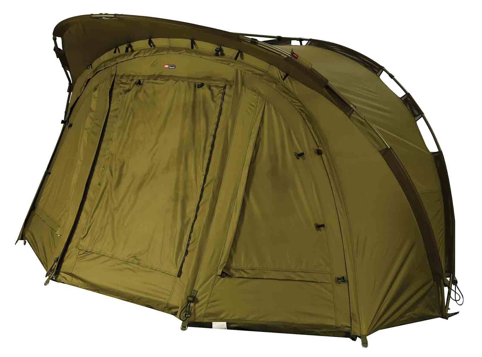JRC New 2019 Stealth Compact 2G Bivvy   Overwrap Carp Fishing Shelter
