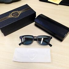 Authentic DITA Atlas Sunglasses In Matte Black With 12k Gold - New - £495 Rrp