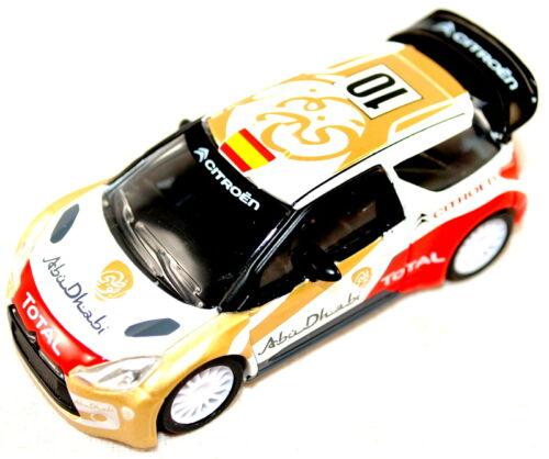 Orig Spagna ed amc19159 CITROEN DS3 il WRC Abu Dhabi totale EDIZIONE 2013 Nuovo