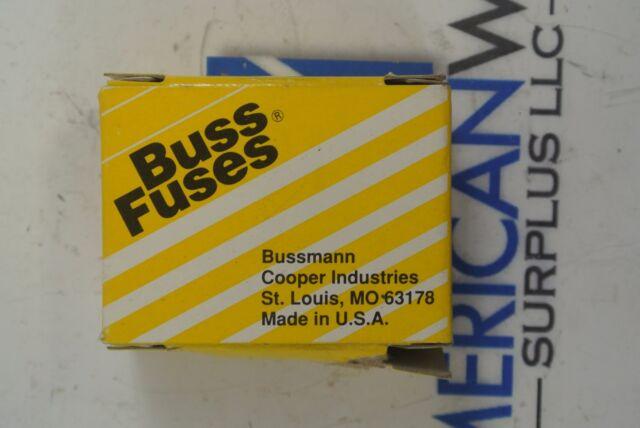 Bussmann Baf-1 Fast Acting Fuse 1a 250v for sale online