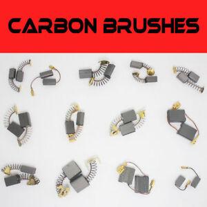 20Pcs Various Size Carbon Brushes Repairing Part Tool For Generic Electric Motor