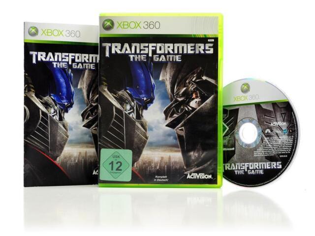Xbox 360 Spiel TRANSFORMERS -The Game - Action-Adventure Roboter Autos DEUTSCH G