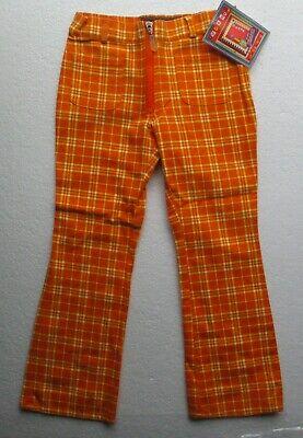 Fornitura Nuovi Pantaloni Ragazza Dalla Designer Marinus In Arancione Tasche 100% Cotone 5-6 Anno-mostra Il Titolo Originale Rafforza Tendini E Ossa
