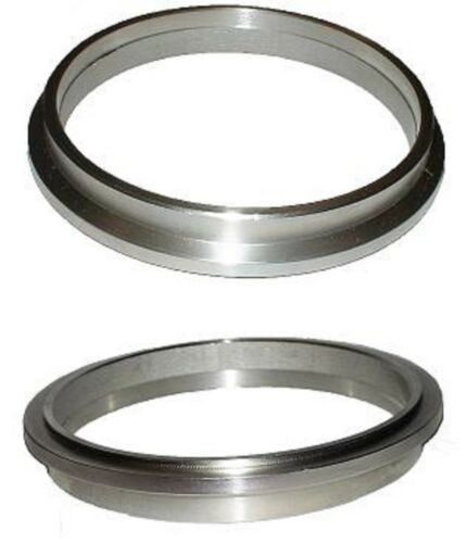 """ATP-FLS-105 3/"""" Downpipe V-band flange w// protruded lip to SPECIAL GT 3/"""" V-band"""