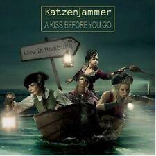 KATZENJAMMER - A KISS BEFORE YOU GO-LIVE IN HAMBURG  CD + DVD NEU +++++++++++++